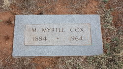 Mary Myrtle <i>Pierce</i> Cox
