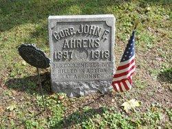 Corp John F. Ahrens