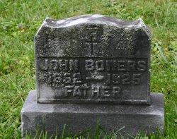 John W Bowers