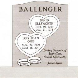 Lois Jean <i>Opie</i> Ballenger