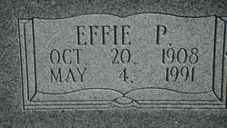 Effie Pearl <i>Alexander</i> Stowers