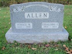 Geraldine Elizabeth <i>Atwell</i> Allen