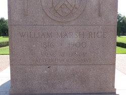 William Marsh Rice