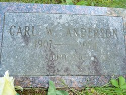 Carl Willelm Anderson