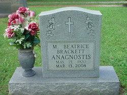 M. Beatrice <i>Brackett</i> Anagnostis