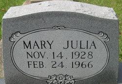 Mary Julia Abrams