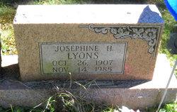 Josephine H <i>Deller</i> Lyons