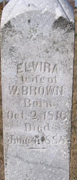 Elvira <i>Blodgett</i> Brown