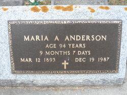 Maria A. Anderson