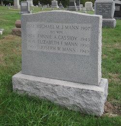 Fannie A. <i>Cassidy</i> Mann