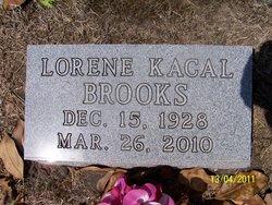 Lorene <i>Zuber</i> Brooks
