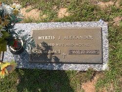Myrtis J. Alexander