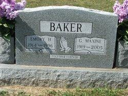 Emory H Baker