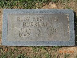 Ruby Nell <i>Ivey</i> Burkhart