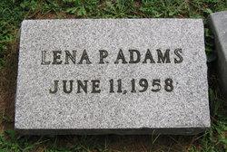 Lena <i>Perkins</i> Adams