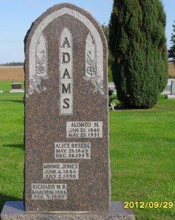 Alice <i>Breese</i> Adams
