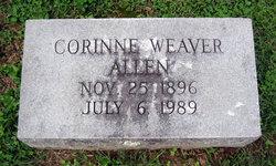Corinne Weaver Allen