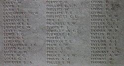 Pvt Arthur John Tackley