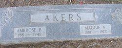 Ambrose B Akers
