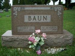 Mary Alverta <i>Yarian</i> Baun