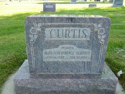 Martha Eunice <i>Vernon</i> Curtis