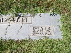 Evelyn May <i>Crampton</i> Barrett