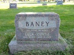 Lula Idonna <i>Curtis</i> Baney