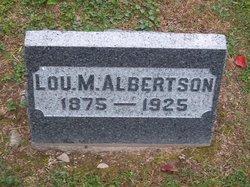 Lulu May Lou <i>Raub</i> Albertson