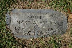 Anna Mary <i>Knott</i> Ayres
