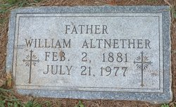 William Altnether