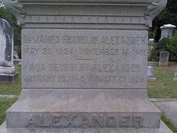 Dr James Franklin Alexander