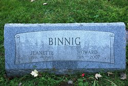 Jeanette Dore <i>Patchin</i> Binnig