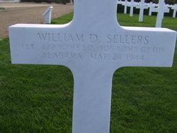 1Lt William D Sellers