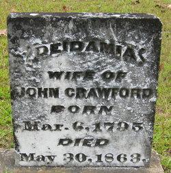 Mrs Deidamia <i>Cheatham</i> Crawford