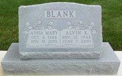 Anna Mary <i>Glick</i> Blank