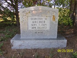 Dorothy Mildred Dot <i>Finn</i> Archer