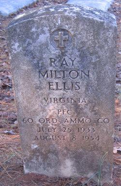 PFC Ray Milton Ellis