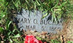 Mary Ann <i>Ollis</i> Buchanan