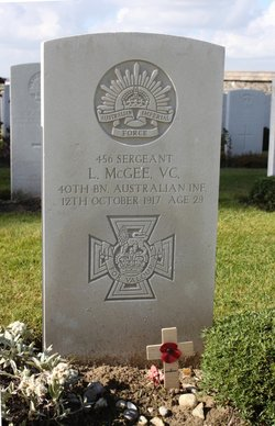 Sgt Lewis McGee
