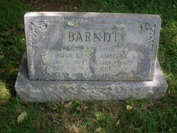 Ambrose Shoemaker Barndt
