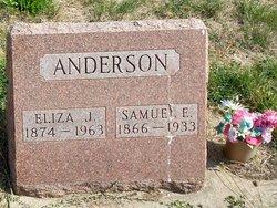 Eliza Jane <i>Halterman</i> Anderson