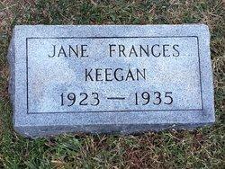 Jane Frances Keegan