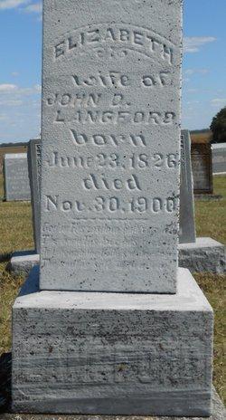 Elizabeth A. <i>Hunsaker</i> Langford - Walden