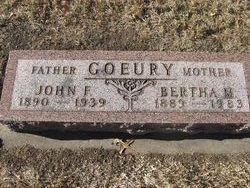 John Franklin Frank Goeury
