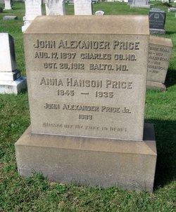 Anna Hanson <i>Beall</i> Price