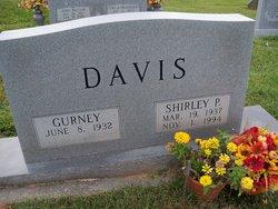 Mrs Shirley <i>Parsons</i> Davis