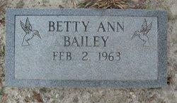 Betty Ann Bailey