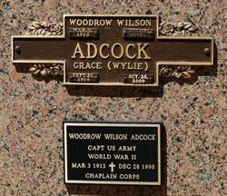 Grace <i>Wylie</i> Adcock