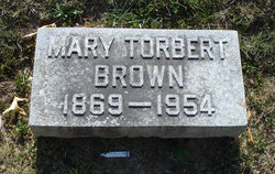 Mary <i>Torbert</i> Brown