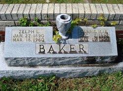 Carrie Mae <i>Brock</i> Baker